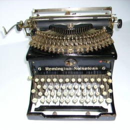 Remington Noiseless model 6. Nr fabr. X211112. Rok prod. 1932. Pochodzenie: USA .